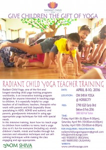 Radiant Child Yoga 2016 Poster smaller