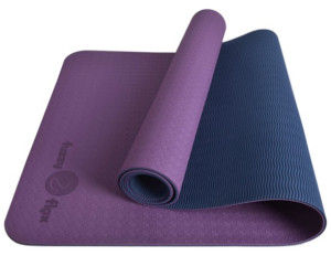 Eco-Flex Yoga Mat: Plum Purple