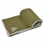 Fuzzy Flex Towels Olive Green